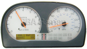 Lotus Exige 2001 Instrument Cluster / Dashboard part no: A111N0005F-MPN
