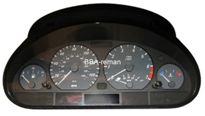 BMW 3 and 5 series dashboard problems