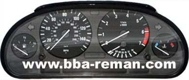BMW X5 2001 – Dashboard/Instrument Cluster