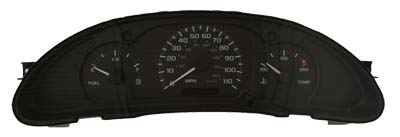 Chevy Cavalier 2000 Dashboard Instrument Cer