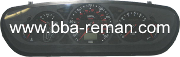 Citroen C5 2.2 HDI 2002 Automatic - Dashboard/Instrument Cluster