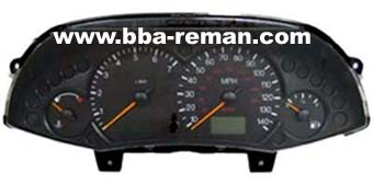 FORD FOCUS DASHBOARD/INSTRUMENT CLUSTER