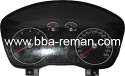 Ford Focus 2005 Plate Petrol - Dashboard/Instrument Cluster