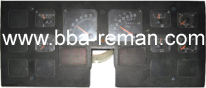 International Bus 2000 - Dashboard/Instrument Cluster