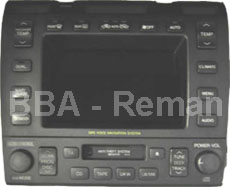 Lexus LS 400 1997-98 - Multimedia Unit P/N: 86111-50060