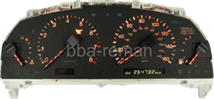 Lexus ES300/GS300/SC300/SC400 instrument cluster / panel / dashboard failing