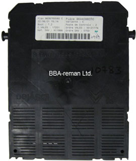 Peugeot 307 BSI Body Control Module - United Kingdom | BBA Reman
