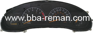 Pontiac Grand Am 1997 - Dashboard/Instrument Cluster