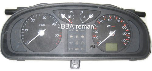 Renault Laguna dashboard instrument cluster problems