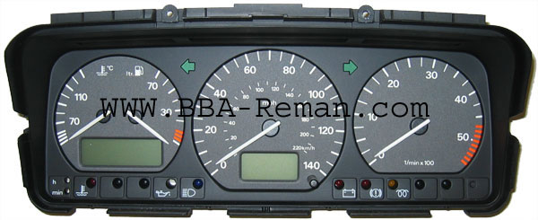 VW Passat instrument cluster / dashboard faults