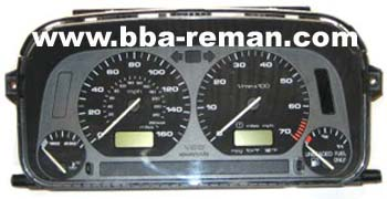 VW mk3 Golf / Jetta / Polo dashboard instrument cluster problems
